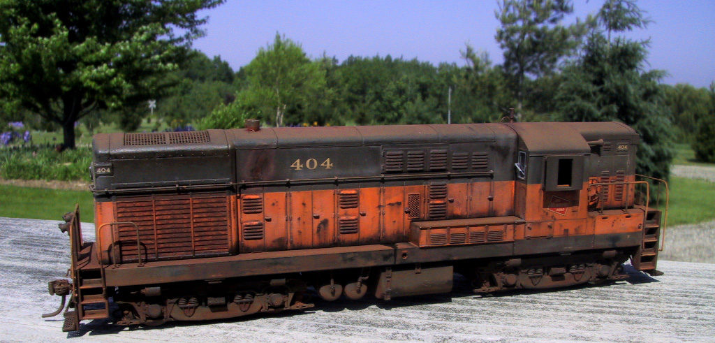 A beautiful model of the Milwaukee H-16-44 Fairbanks Morris train.