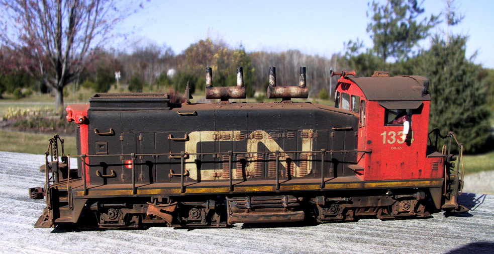 Canadian National Railway SW1200 #1334