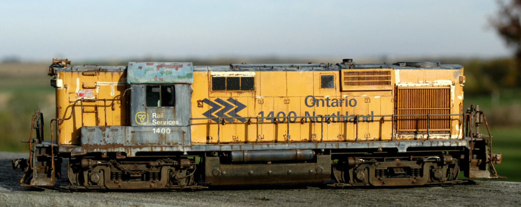 This is an Ontario Northland #1400